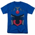 Darkseid Costume t-shirt mens royal blue