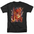 JLA t-shirt Flash #1 mens black