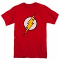 JLA t-shirt Flash Logo mens red