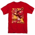 JLA t-shirt Flash mens red