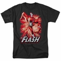 JLA t-shirt Flash Red & Gray mens black