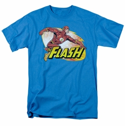 JLA t-shirt Flash Zoom mens turquoise
