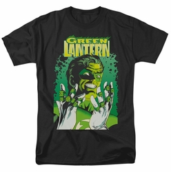 JLA t-shirt Green Lantern #49 Cover mens black