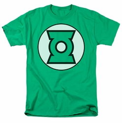 JLA t-shirt Green Lantern Logo mens kelly green