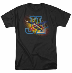 JLA t-shirt Heroes United mens black