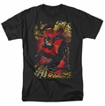 JLA t-shirt Nightwing #1 mens black