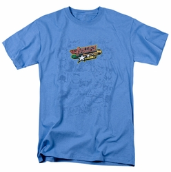 JLA t-shirt On Call mens carolina blue