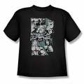 Justice League youth teen t-shirt A Mighty League black