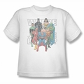Justice League youth teen t-shirt Classified #1 Cover white