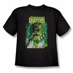 Justice League youth teen t-shirt Green Lantern #49 Cover black