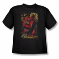 JLA youth teen t-shirt Nightwing #1 black