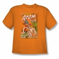 Justice League youth teen t-shirt Showcase #34 Cover orange