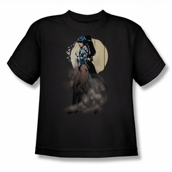 Justice League youth teen t-shirt Zatanna Illusion black