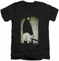 Joan Jett Turn mens black v-neck t-shirt