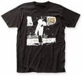 John Cale Animal Justice fitted jersey tee black mens pre-order
