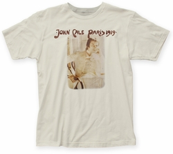 John Cale Paris 1919 fitted jersey tee vintage white mens pre-order