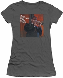 John Coltrane juniors t-shirt Last Train charcoal