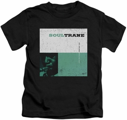 John Coltrane kids t-shirt Soultrane black