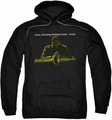 John Coltrane pull-over hoodie Mellow Yellow adult black