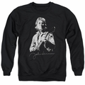 John Lennon adult crewneck sweatshirt Iconic Black