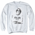 John Lennon adult crewneck sweatshirt New York White