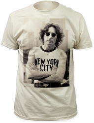 John Lennon NYC t-shirt fitted jersey tee pre-order