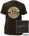 John Lennon power to the people fitted jersey tee coal t-shirt pre-order