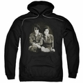 John Lennon pull-over hoodie Beret adult Black