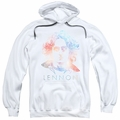 John Lennon pull-over hoodie Colorful adult White