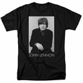John Lennon t-shirt Ex Beatle mens black
