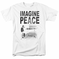 John Lennon t-shirt Imagine mens white