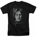 John Lennon t-shirt Sketch mens black