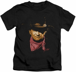 John Wayne kids t-shirt Splatter black