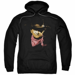 John Wayne pull-over hoodie Splatter Portrait adult black