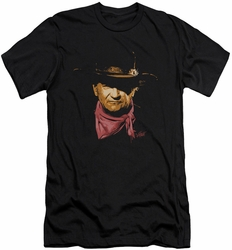 John Wayne slim-fit t-shirt Splatter mens black