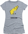 Johnny Bravo juniors t-shirt Johnny Hair athletic heather