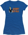 Johnny Bravo juniors t-shirt Johnny Logo royal