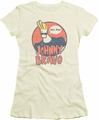 Johnny Bravo juniors t-shirt Wants Me cream