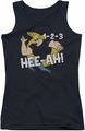 Johnny Bravo juniors tank top 123 black