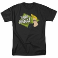 Johnny Bravo t-shirt Oohh Mama mens black