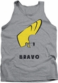 Johnny Bravo tank top Johnny Hair mens athletic heather