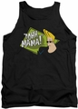 Johnny Bravo tank top Oohh Mama mens black