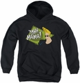 Johnny Bravo youth teen hoodie Oohh Mama black
