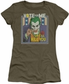 Joker juniors t-shirt Joker Dark Detective #1 military green