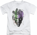 Joker kids t-shirt Airbrush white