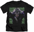 Joker kids t-shirt Insanity black