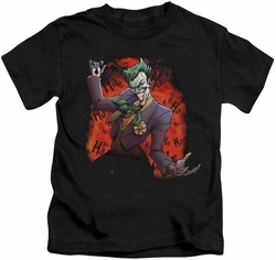 Joker kids t-shirt Ave black