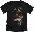 Joker kids t-shirt Smile Of Evil black