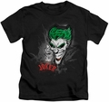 Joker kids t-shirt Sprays The City black