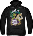 Joker pull-over hoodie It's All A Joke adult black